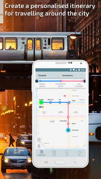 Brussels Metro Guide and Subway Route Planner apk screenshot