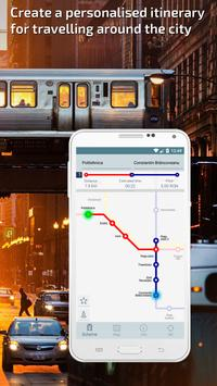 Bucharest Metro Guide and Subway Route Planner apk screenshot