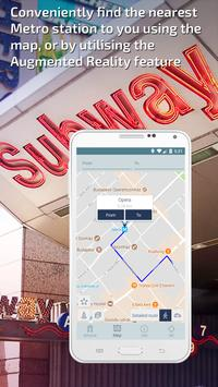 Budapest Metro Guide and Subway Route Planner apk screenshot