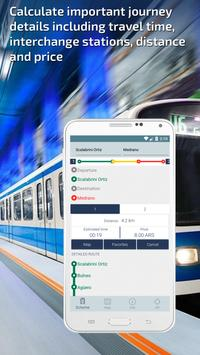 Buenos Aires Subway Guide and Metro Route Planner apk screenshot