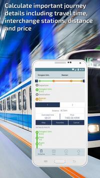 Busan Metro Guide and Subway Route Planner apk screenshot