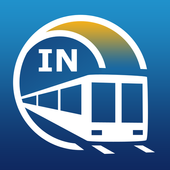 Delhi Metro Guide and Subway Route Planner icon
