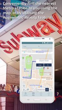 Delhi Metro Guide and Subway Route Planner apk screenshot