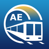Dubai Metro Guide and Subway Route Planner icon