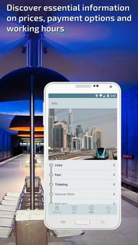 Dubai Metro Guide and Subway Route Planner apk screenshot