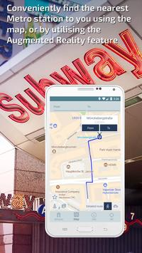 Hamburg U-Bahn Guide and Subway Route Planner apk screenshot