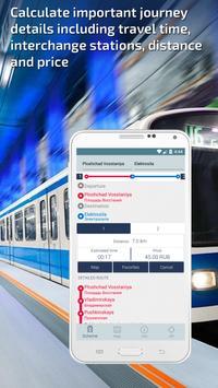 St Petersburg Metro Guide and Subway Route Planner screenshot 2