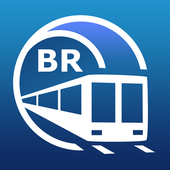 São Paulo Metro Guide and Subway Route Planner icon