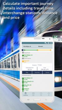Sapporo Subway Guide and Metro Route Planner apk screenshot