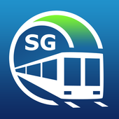 Singapore Metro Guide and MRT & LRT Route Planner icon