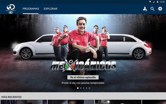 Discovery en Español screenshot 4