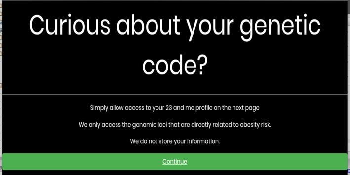 Reveal genetic code apk screenshot