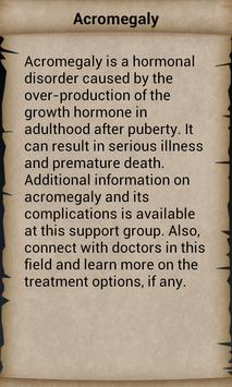 Disease Dictionary screenshot 2