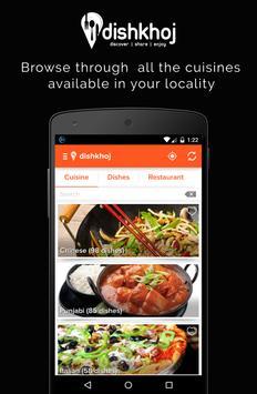DishKhoj - Discover Food! poster