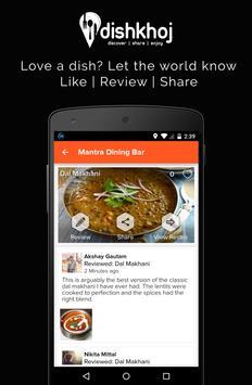 DishKhoj - Discover Food! screenshot 3