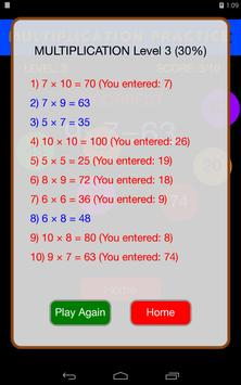Quick Strike Math Game - Kids' Practice apk screenshot