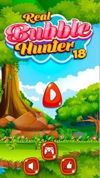 Real Bubble Hunter 2018 screenshot 1