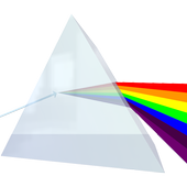 Dispersion of White Light 3D icon
