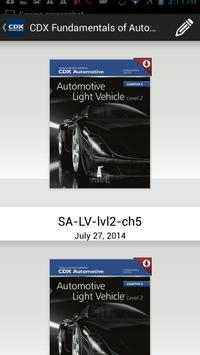 CDX Automotive screenshot 1