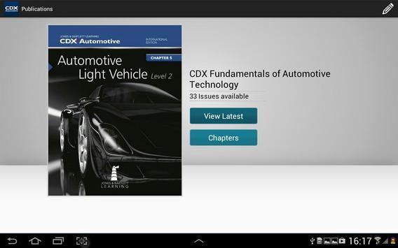CDX Automotive screenshot 4