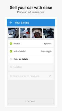 Adverts Cars apk screenshot