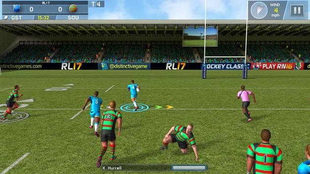 Rugby League screenshot 1