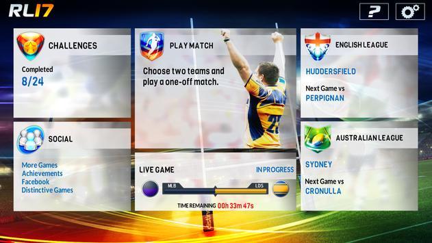 Rugby League screenshot 4
