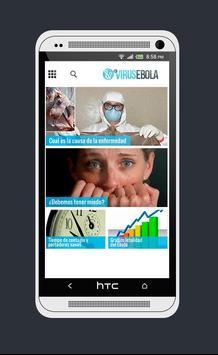 Ebola Virus Noticias poster