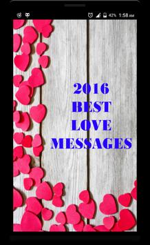 2017 Love Message for Whatsapp poster