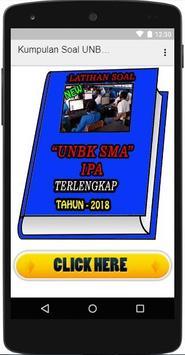 Kumpulan Soal UNBK SMA IPA 2018 Terbaru poster