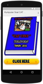 Kumpulan Soal CAT CPNS 2018 poster