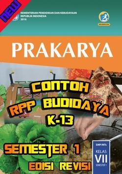 RPP Prakarya Budidaya Smstr 1 Kls 7 poster