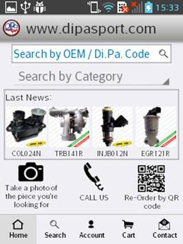 Dipa Sport - Auto Spare Parts apk screenshot