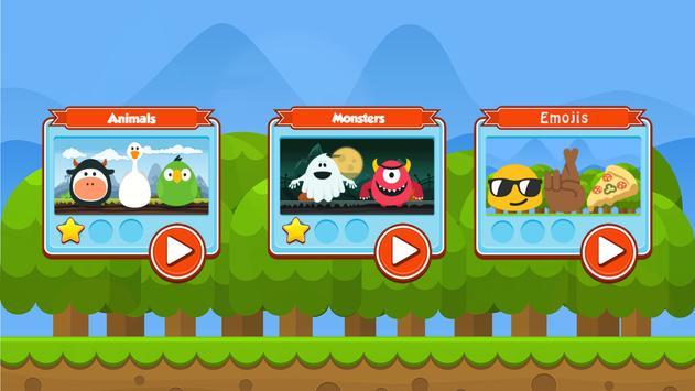 Memory Game - Brain Storming Game for Kids screenshot 1