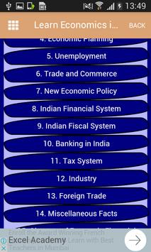 Learn Economics in हिंदी English-अर्थशास्त्र सीखे screenshot 2
