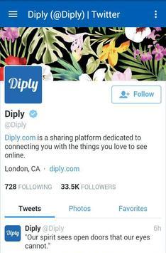 Diply apk screenshot