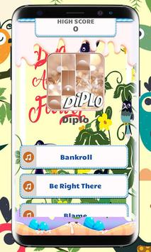 Diplo Piano Tiles Music poster