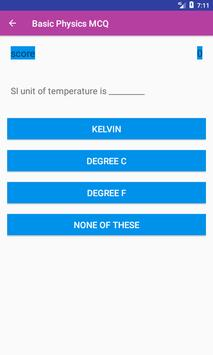 Basic Physics MCQs for Android - APK Download