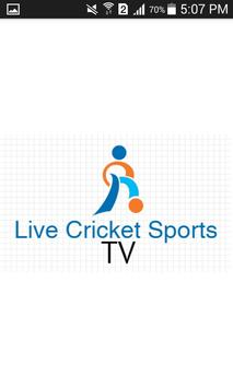 Live Cricket n Sports TV poster
