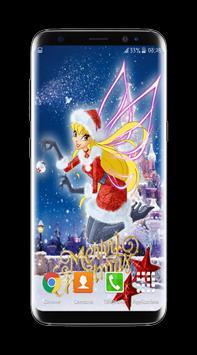 Winx Christmas Club Wallpaper HD screenshot 2