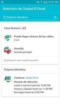 Directorio de Ciudad El Doral screenshot 3
