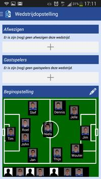 Voetbal   Club-assistent screenshot 5