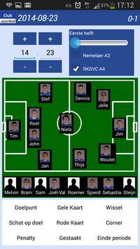 Voetbal   Club-assistent screenshot 6
