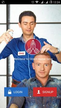 Direct Home Seva - Barbers, Salons, Beauticians poster