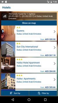 SITA Hotel Bookings screenshot 2