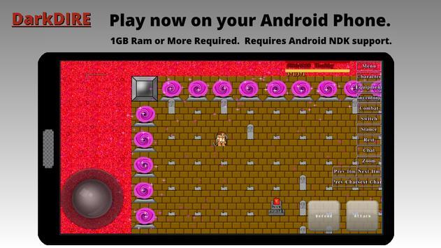 DarkDIRE RPG apk screenshot
