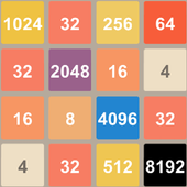 Puzzle 2048, 4096, 8192 icon