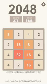 Puzzle 2048, 4096, 8192 poster