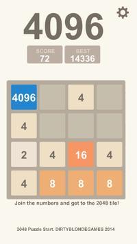 Puzzle 2048, 4096, 8192 apk screenshot