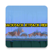 Backpack Jetpack Ride icon